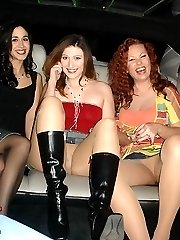 Amateur girls showing hottest upskirts for money