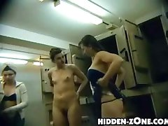 Wretched and uncensored video clips from college checkroom