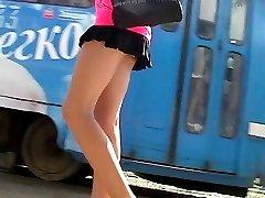 Thong up girls mini
