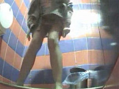 Movies from spy camera planted in ladies room