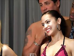 New shy couple get introduced to the swingers lifestyle