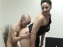 Midget fucked by monster cock