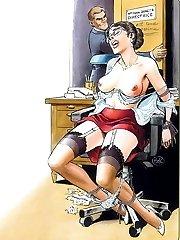 Cruel BDSM comics - Beautes Dociles