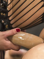 The gorgeous Lea Lexis turns Rick Fantana into her little bitch all bound and humiliated on a...