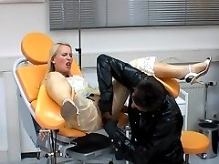 Rubber clinic games with Gina I