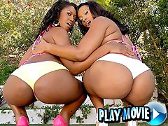 Cherokee has the most amazing huge round ass and knows how to use it in these threesome vids