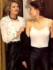 Seventies ladies in a trio