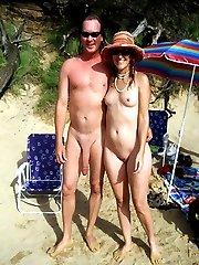 Forbidden photos and videos from nudist beach