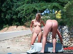 Real teens on nasty nudist pics