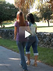 They can't keep their hands off their own and each other's big bubble butts and they seriously love dick. Come on and check out these two giant asses get stuffed full of cock. I promise you will enjoy