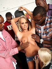 Black Cock Slut, Britney Young 2 gets Hammered at Blacks On Blondes!