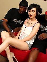 Sandra Luberc Interracial Movies at Blacks On Blondes!