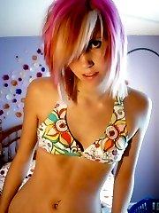 Amazing teen emo babes pics