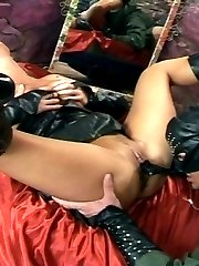 Slut Loves To Be Fucked In Latex