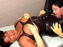 Rubber slave trainee part II