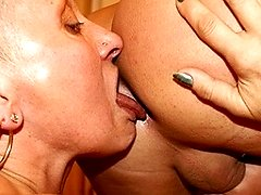 Mama is eating ass and sucking cock