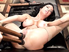 Please welcome the fabulous and sexy Veronica Avluv to HogTied! Veronica is a Nympho Anal MILF...