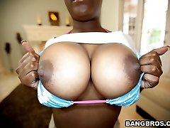 He gets to fuck Anna Halo on todays Brown Bunnies. This babe has a smooth milk chocolate body...