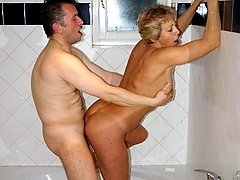 This lonely housewife gets a special kinky visit