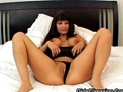 Beautiful hot wife fingers for climax
