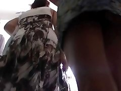 My hidden cam shot upskirt closeups