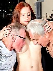 Beauty and the Senior Old Young Porn