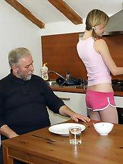 Screwing the kitchen help