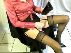 satin and stocking