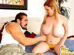 Victoria gets her huge pair of jugs fucked then cremed all over in these vids
