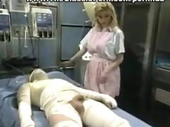 Nurse bringing reviving a patient