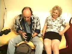 British granny enjoys a photoshoot