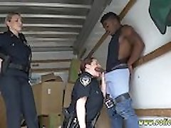 Backroom amateur threesome Black suspect