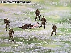 Big nasty monster fucking horny anime part1