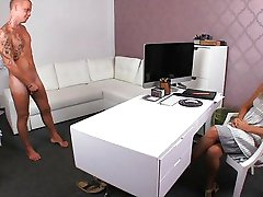 Stud dissapoints MILF in casting