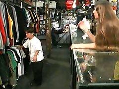 Dwarf Fucks Teen Ryan In Store