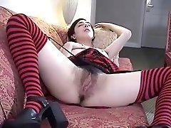 Petite 18 Hairy Legs Teen Is Fucking Hot (3 scenes )