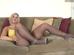 hot girl in pantyhose