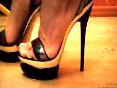 Lady Nadia - Metal High Heels