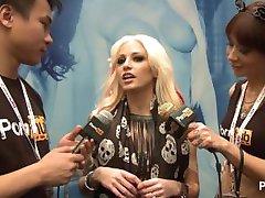 PornhubTV Rikki Six Interview at 2014 AVN Awards