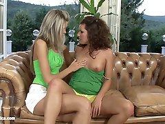 Slurping Sweeties Brandy and Dominika from Sapphic Erotica