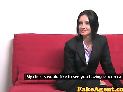 FakeAgent Hot mature teacher loves getting spanked and fucked in Casting