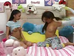 Hot Teens give babysitter a blowjob.F70