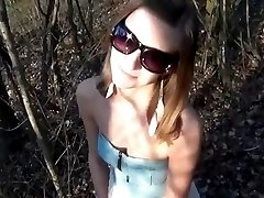 MRY - slut is anal fucked in the woods