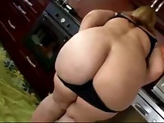BBW Slut Shows Hot Fat Pussy & Ass