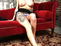 Vyxen Steel Interracial Movies at Blacks On Blondes!