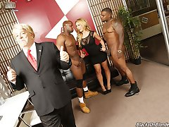 Black Cock Slut, Megyn Gets Trumped gets Hammered at Blacks On Blondes!