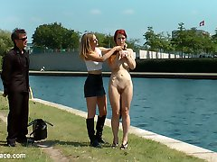 Gorgeous Ginger Isabella Lui is a filthy river rat and Mona Wales is here to make sure that...