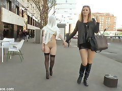 Slutty Brenda Boop is a whore for Jesus and Mona Wales is there to humiliate her in front of the...