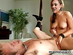 Married life can be such a bore, unless you have a wicked bitch like Gwen Diamond to terrorize your libido on a regular basis.  Billy as usual is full of himself and needs a bitch slap and hard strap on fuck up the ass to put him back in his place.