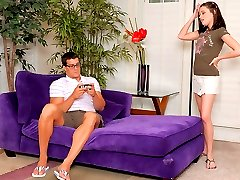 Hot girl with hairy bush fucks her nerdy boybriend and sucks his big cock 4 hd movies
